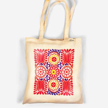 Bavlnená taška V záhrade tulipánov 1