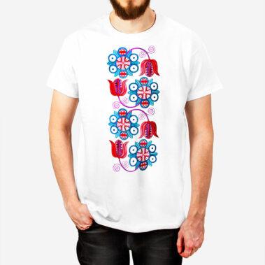 Pánske tričko Červeň a Modraň