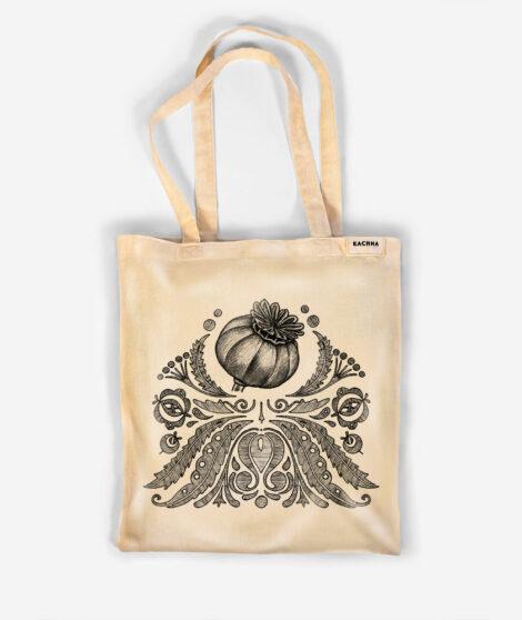 Bavlnená taška Makovička 1