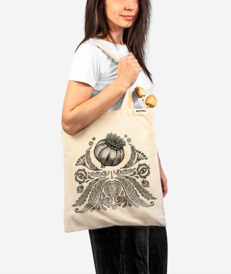 Bavlnená taška Makovička 2