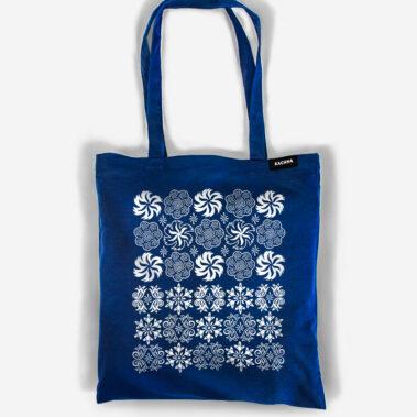 Bavlnená taška Západ Tmavomodrá 1