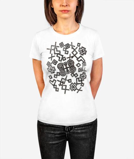 Dámske tričko Rozsypané Čičmany 1