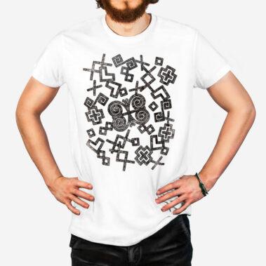 Pánske tričko Rozsypané Čičmany 1
