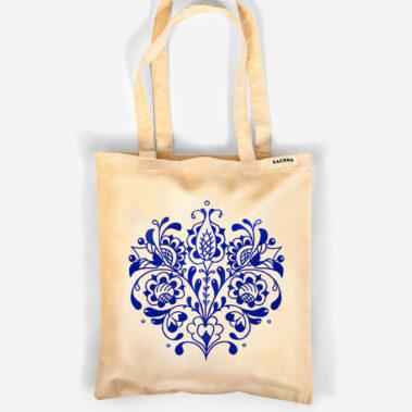 Bavlnená taška Modrý pán Tulipán 1