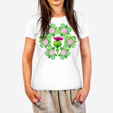 Dámske tričko Nitriansky bodliak 1