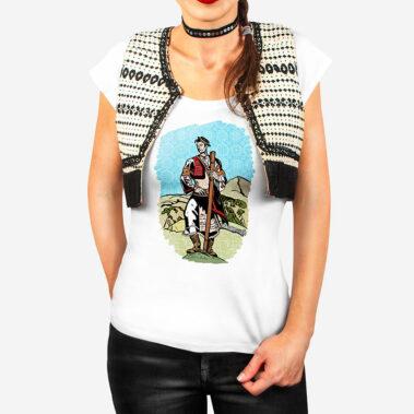 Dámske tričko Stážca Stredu 1