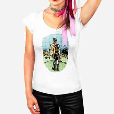 Dámske tričko Stážca Východu 1