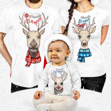 Vianočné oblečenie Sobia rodinka 1