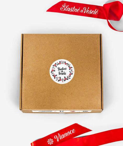 Pánska vianočná mikina so Sobom - krabička 1